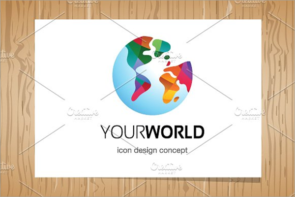 Your World 3D Logo
