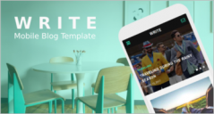 75+ Responsive Free Blog Templates