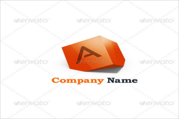 company-abstract-3d-logo