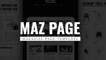News Blog Magazine Templates