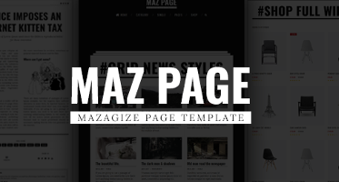 News Blog Magazine Templates