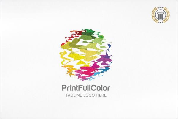 printfull abstract 3d logo