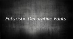 15+ Best Futuristic Decorative Fonts