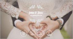 21+ HTML Wedding Website Templates