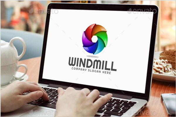 windmill-abstract-3d-logo