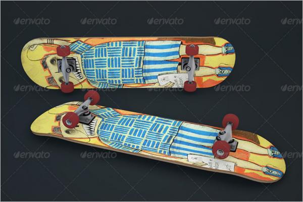3DSkateboard Design