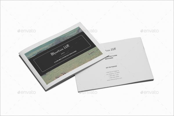 A5 Real Estate Brochure