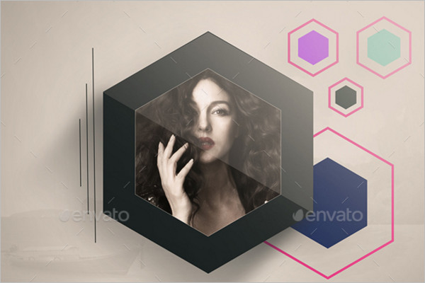 AbstractPhoto Frame Template