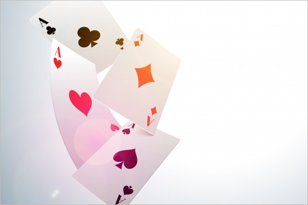 Ace Playing Card Mock up