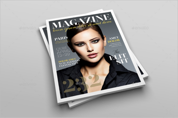 Advertising Letter Magazine Mockup