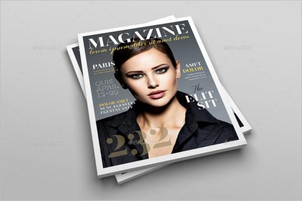 Advertising Letter Magazine Mockup