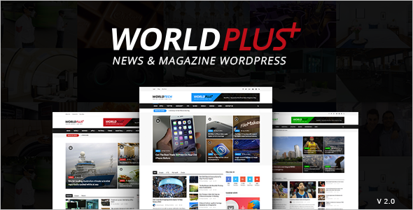 Advertising Multimedia WordPress Theme