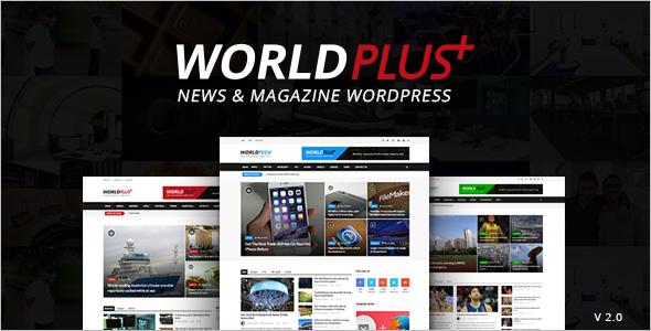 Advertising Multimedia WordPress Theme