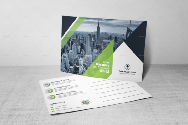 Advertising Photography Postcard Template