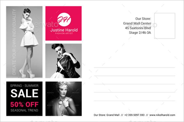 AdvertisingPostcard Design