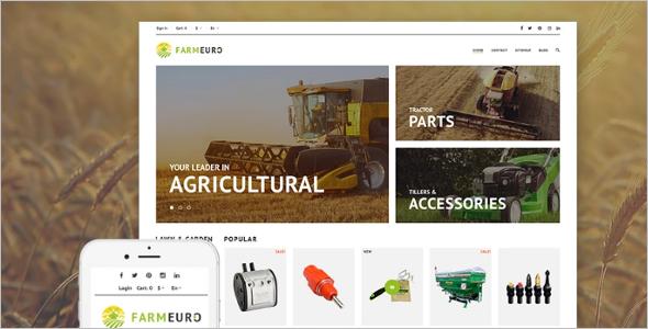 Agricultural PrestaShop Theme