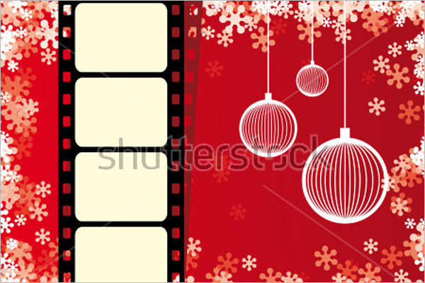 Animated Photo Frame Vector Design