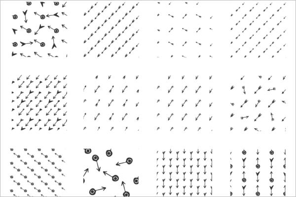 Arrows Seamless Patterns