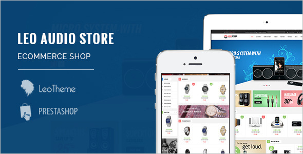 Audio-Responsive PrestaShop Theme