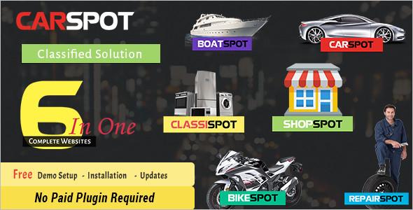 Auto Repair WordPress Theme