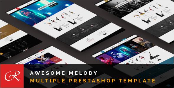 Awesome Melody Prestashop Theme