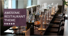 30+ Restaurant Landing Page Templates