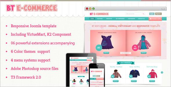 BT E-commerce Business VirtueMart Theme