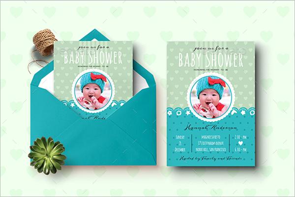 Baby ShowerEnvelope Design