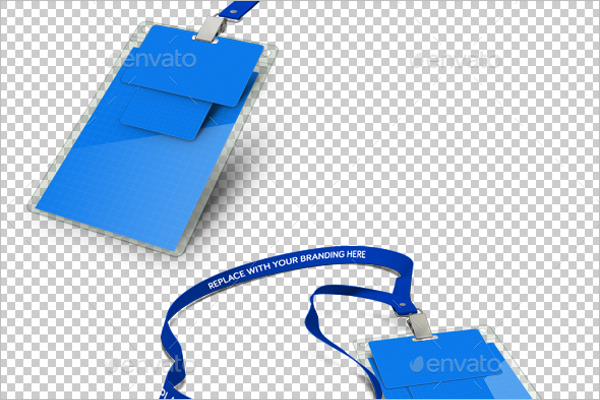 Badge Product Mockup Design