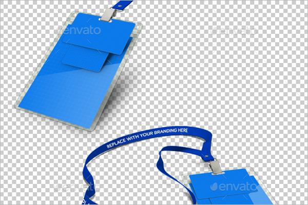 Badge Product Mockup Design