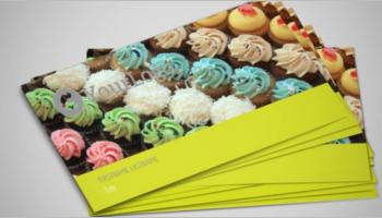 Bakery Postcard Templates