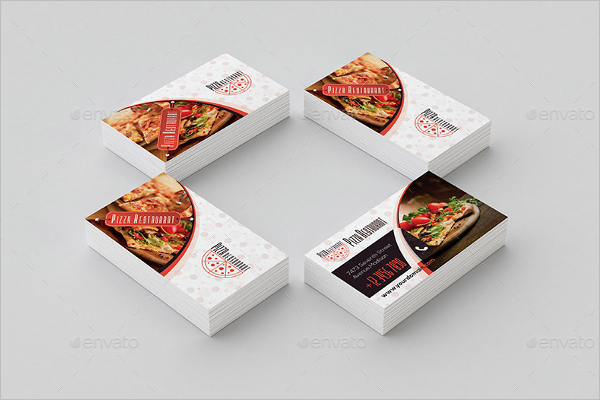 Bakery Postcards Template
