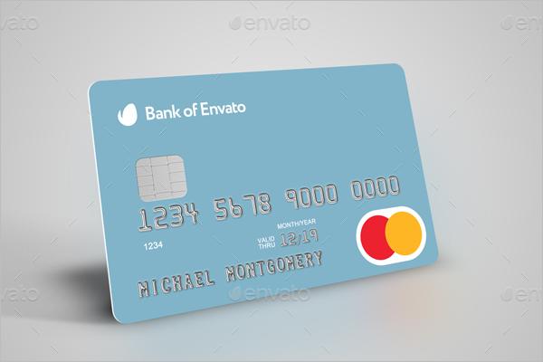 Bank Credit Card Mockup Design