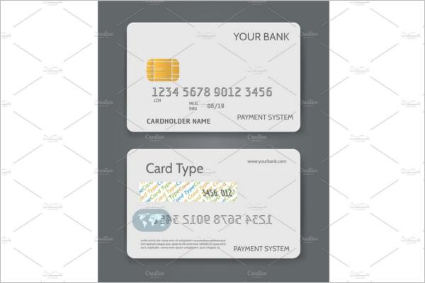 Bank Credit Card Mockup Template