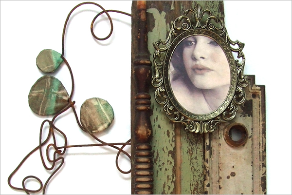Beautiful Antique Photo Frame Design