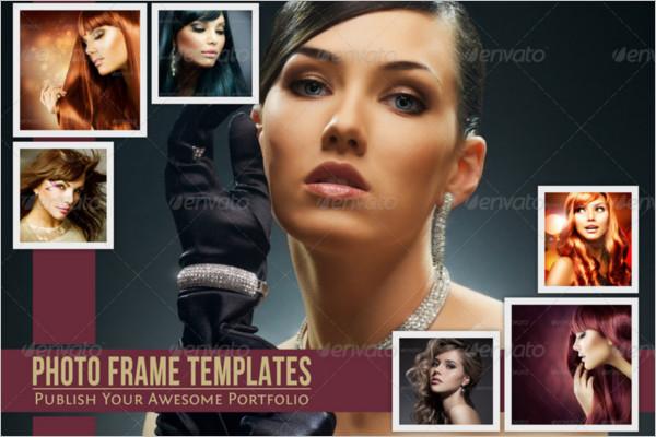 Beautiful Photo frame Template