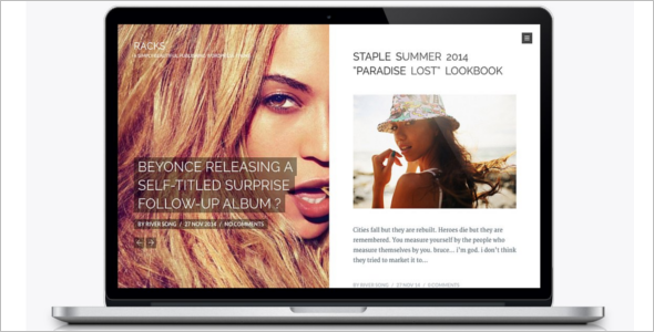 Beautiful WordPress News Theme