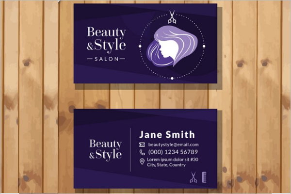Beauty And Style Business Card Template