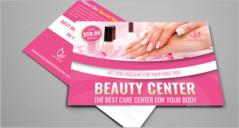 17+ Beauty Center Postcard Templates