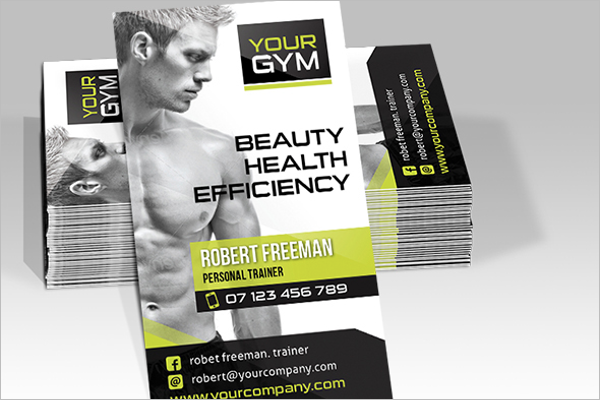 Beauty Gym Business Card