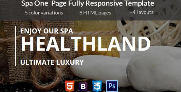 Beauty Salon PHP Theme