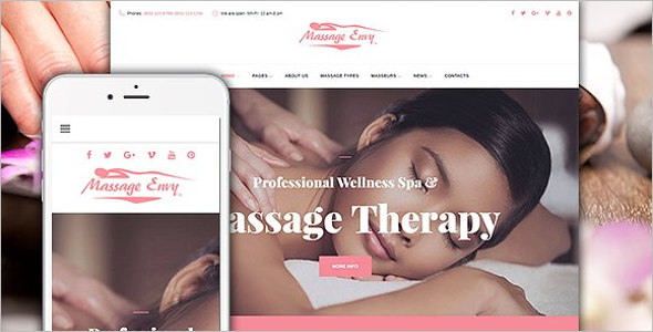 Beauty Spa WordPress Theme