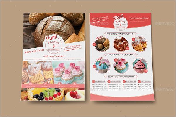Best Bakery Postcard Template