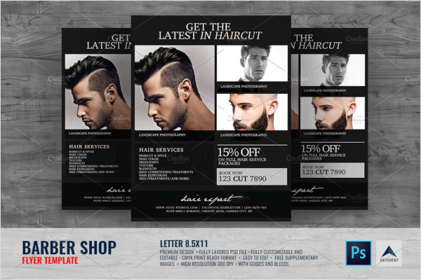 Best Barber Shop Flyer Design