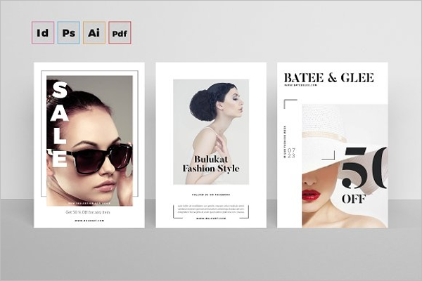 Best Beauty Postcard Template