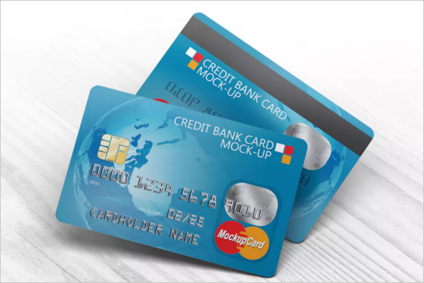 BestCredit Card Mockup Design