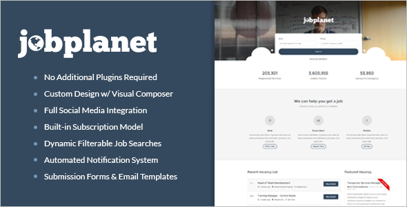 Best Job Portal WordPress Theme