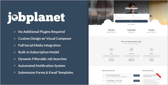 Best Job Portal WordPress Theme