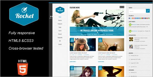 Best Magazine PHP Theme