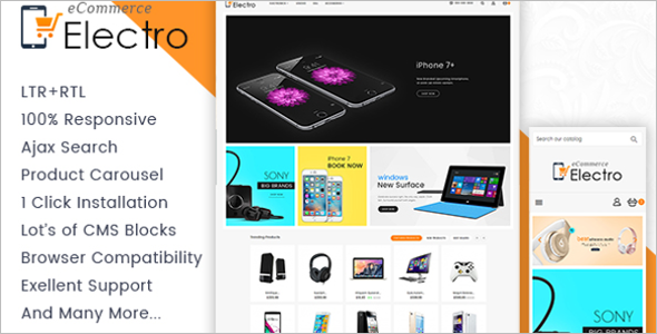 Big Electronics Prestashop Template